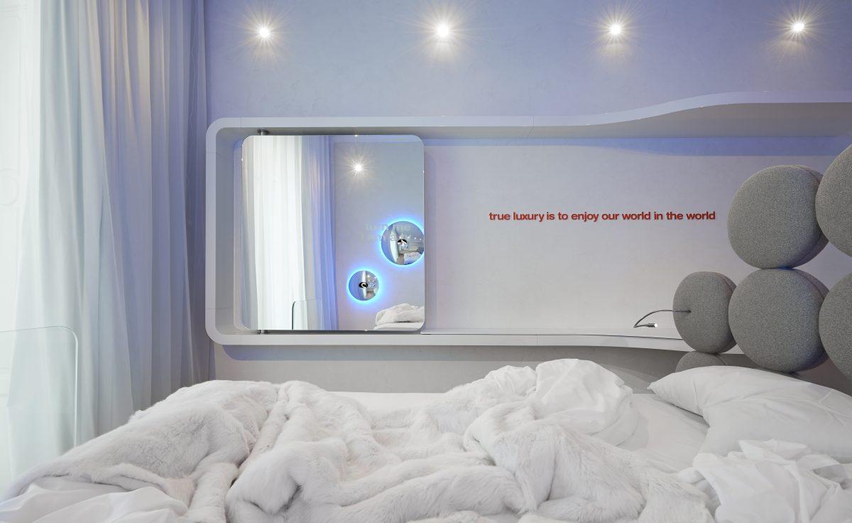 SWAN ROOM suite Simone Micheli
