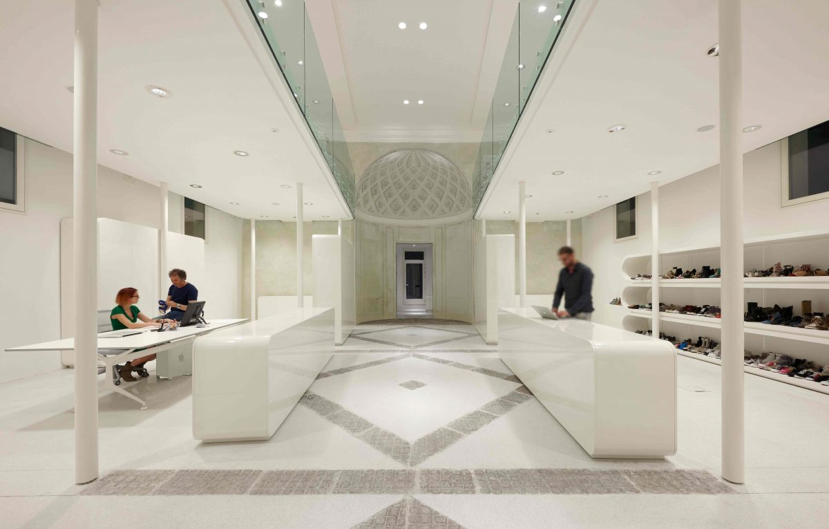 RUBENSLUCIANO New Offices & Showroom Simone Micheli