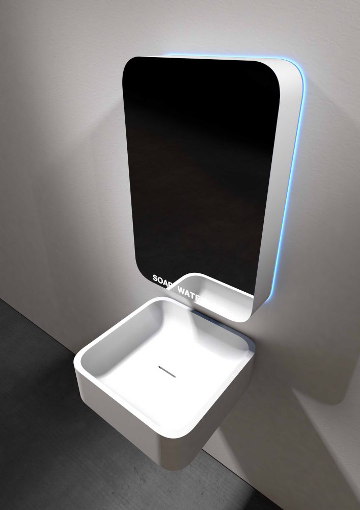 SUPERMIRROR – INTEGRATED SINK Simone Micheli