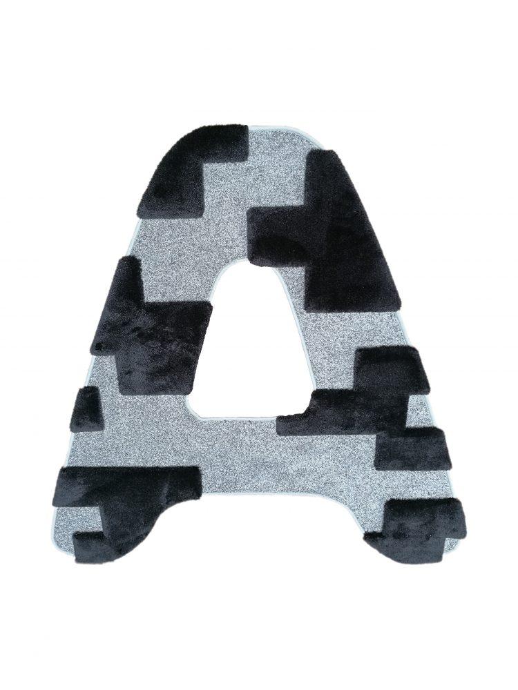 """Tappeto lettera """"A"""" for Besana Moquette Simone Micheli"""