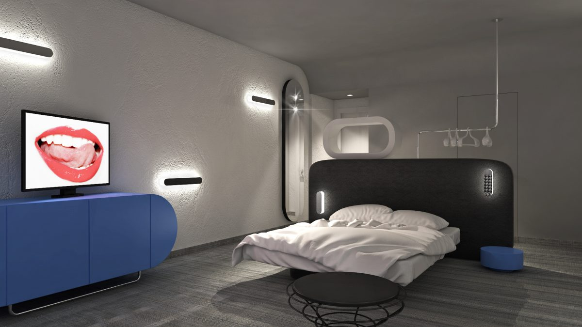 HOTEL RIPA 100 new rooms Simone Micheli