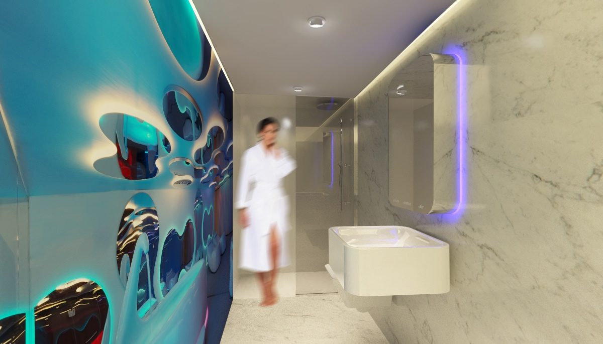 Aqua special wellness industry – offices Simone Micheli