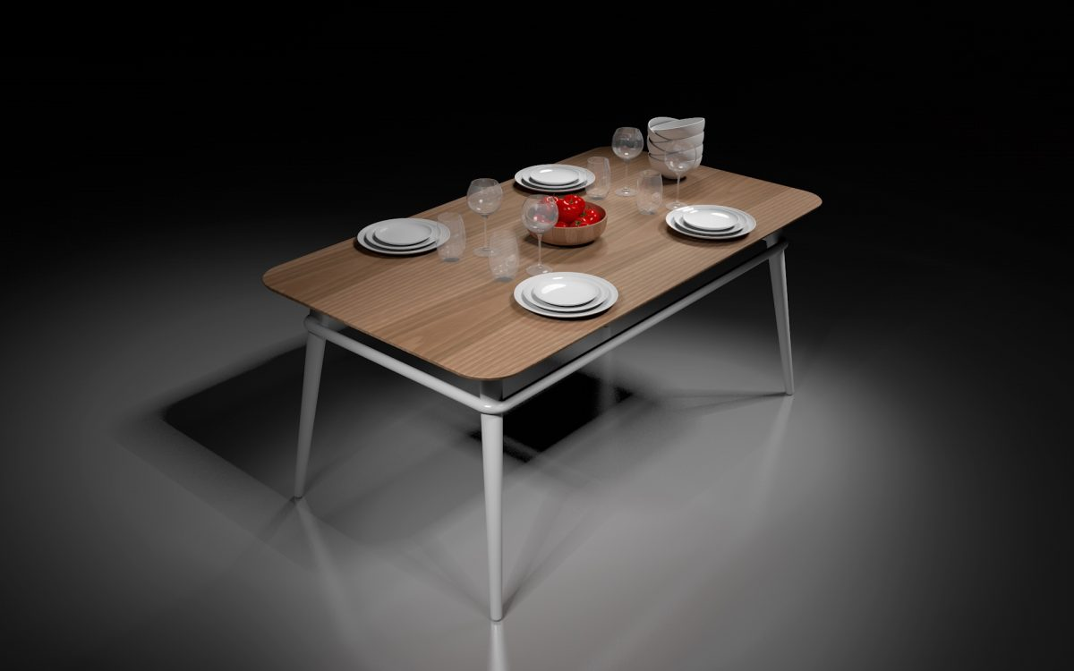 QM table collection Simone Micheli