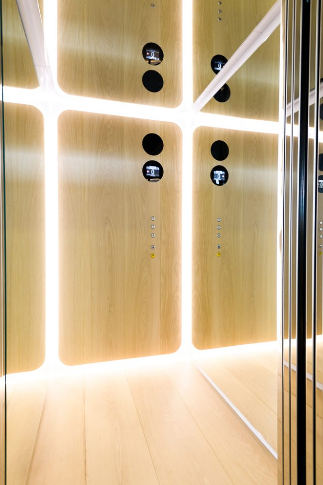 Cabina ascensore – Nova Elevators Simone Micheli