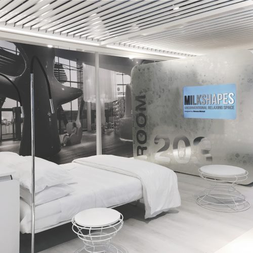MILKSHAPES unconventional relaxing space