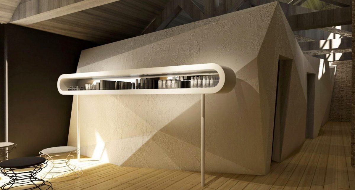 Dolomia – Spa-Showroom Simone Micheli