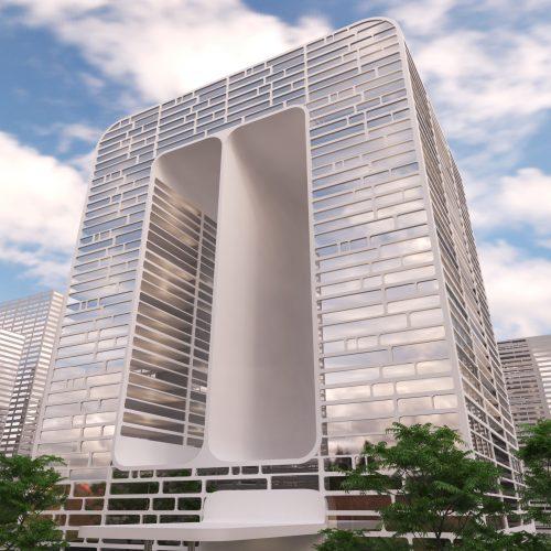 unconventional  building