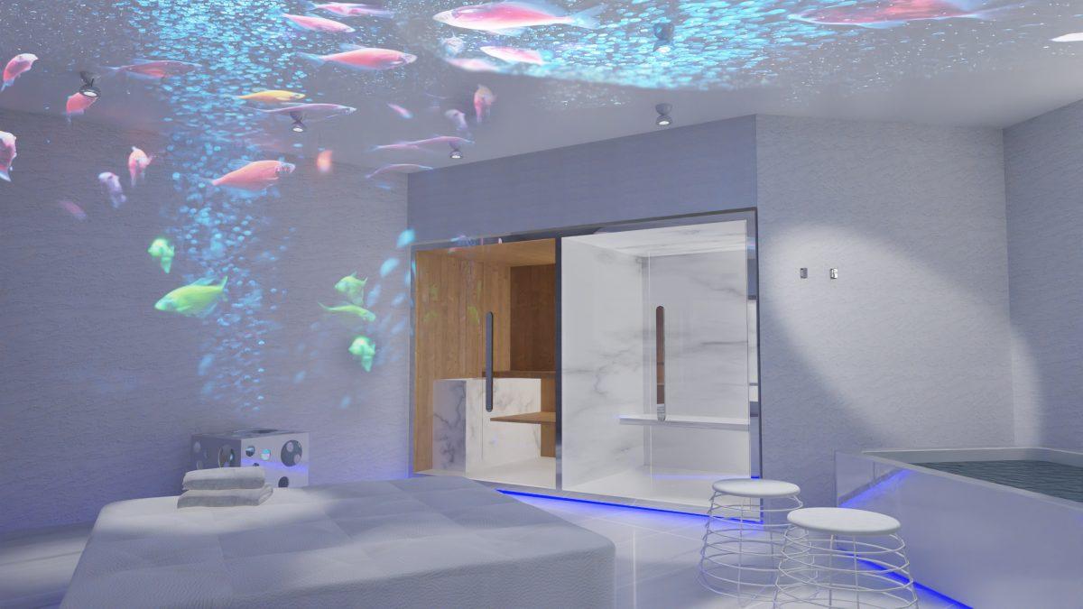 Concept for dayspa Simone Micheli