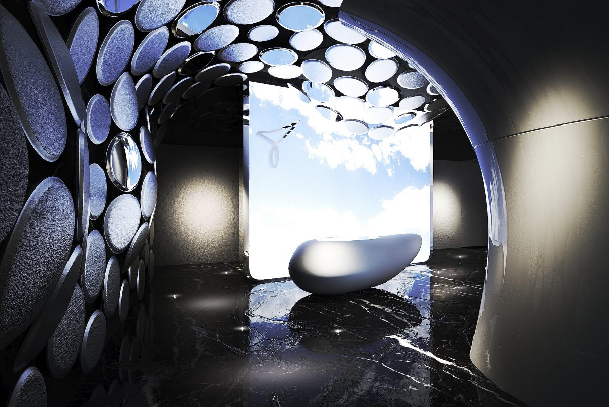 Circle space Simone Micheli