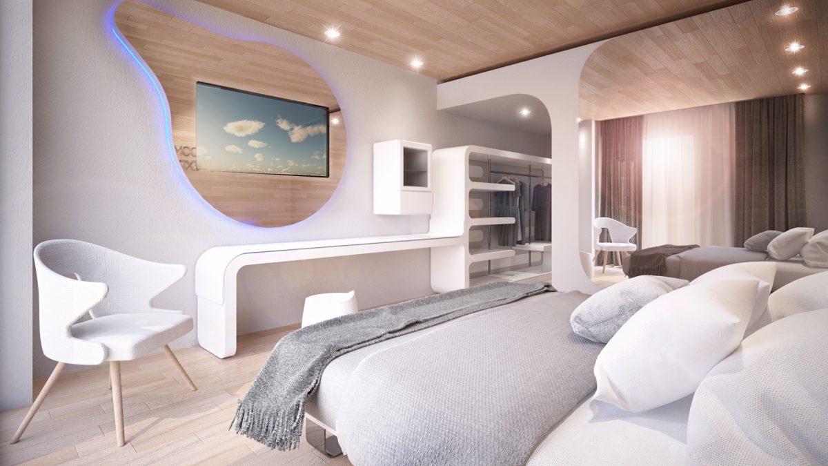 Wood and sea luxury hotel Simone Micheli