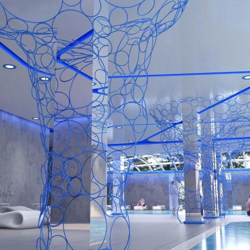 Light Blue spa